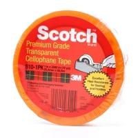 Лента 3M™ Scotch 610 для проверки адгезии, 58мкр, 66м:25мм