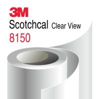 Пленка 3М Scotchcal 8150 для витрин, Оптически прозрачная