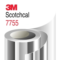 Пленка 3М 7755 для световой рекламы, Зеркальная