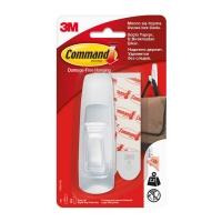 Крючок 3M Command™ 17003 прямоугольный до 2,25кг, Белый