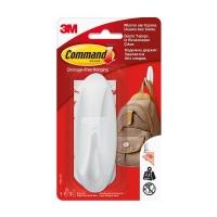 Крючок 3M Command™ 17083 овальный до 2,25кг, Белый