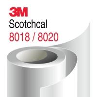 Ламинат 3М Scotchcal 8018/8020 для ровных поверхностей