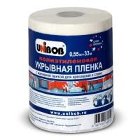Укрывная пленка с крепп-лентой UNIBOB®, 10мкр, 33м:55см