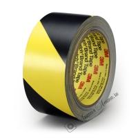 Сигнальная лента 3M™ 5702 для разметки пола, 140мкр, 33м:50мм