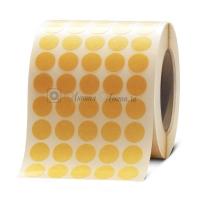 Кружочки Ø20мм из ORABOND® 1331 разной клейкости, 10750шт/рулон
