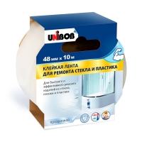Невидимая лента Unibob® для ремонта стекла и пластика, 10м:48мм