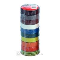 Набор ПВХ изолент 3M™ 1300, Разноцветные, 10м:15мм, блок 10шт.