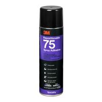 Клей-спрей 3M™ 75 временной фиксации, 500мл