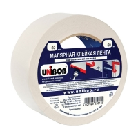 Малярная лента UNIBOB® для внутренних работ, до 60°C