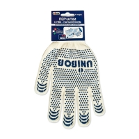 Перчатки трикотажные Unibob® с ПВХ напылением, пара