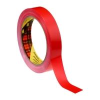 Односторонняя лента 3M™ 6893 на ПВХ основе, Красная, 60мкр
