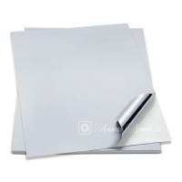 Лист этикеточный 3M 7879 для печати, Серебристый матовый, А4