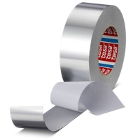 Алюминиевая лента tesa® 60632 с лайнером, 65мкр, 50м:50мм