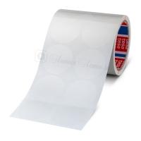 Кружочки из tesa® 64044 односторонней ПП ленты