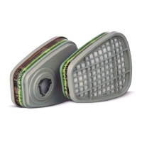Фильтр 3M™ 6059 от паров, кислых газов и аммиака, пара