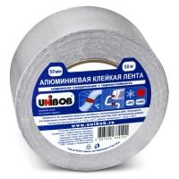 Алюминиевая клейкая лента UNIBOB® с лайнером, 70мкр