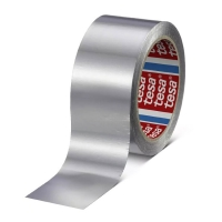 Алюминиевая лента tesa® 50565 без лайнера, 90мкр, 50м:50мм