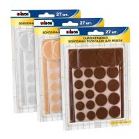 Войлочные накладки Unibob® для мебели, набор 27 шт