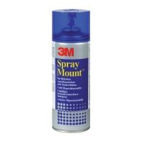 Клей-спрей 3M™ Spray Mount® временной фиксации, 400мл
