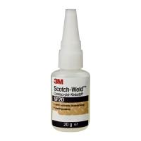 Цианакрилатный клей 3M® SF20 для гладких поверхностей, 20гр
