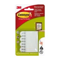 Клейкие застежки 3M Command™ 17202 для картин до 1,8кг, Белые