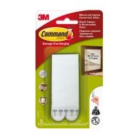Клейкие застежки 3M Command™ 17206 для картин до 7.2кг, Белые