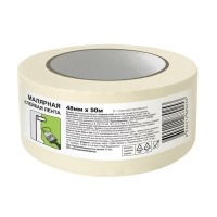 Малярная лента UNIBOB® эконом до 60°C, 50м:48мм
