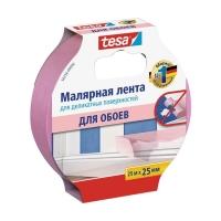 Малярная лента tesa® 56256 для деликатных поверхностей, 25м:25мм