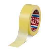 Малярная лента tesa® 4334 для ровных краёв, Желтая, 50м:30мм