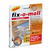 Москитная сетка для мансардных окон fix-o-moll®, 1.3x1.5м