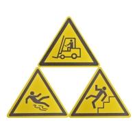 Противоскользящий знак Mehlhose® треугольный