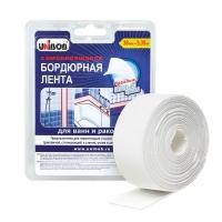 Бордюрная лента UNIBOB® для ванн и раковин, 38мм:3,35м