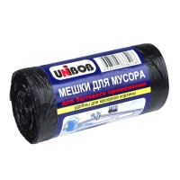 Мешки для мусора Unibob® полиэтиленовые в рулоне, Черные