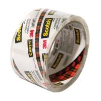 Упаковочная ПП лента Scotch®, Кристальная, 40мкр, 35м:48мм