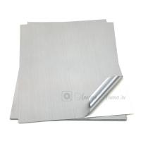 Лист этикеточный 3M™ 7909S для печати, Алюминий шлифованный