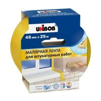 Малярная лента UNIBOB® для штукатурных работ, 25м:48мм
