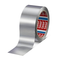 Алюминиевая лента tesa® 60630 без лайнера, 65мкр, 50м:50мм